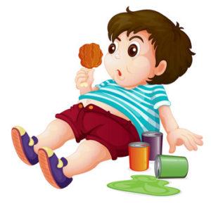 bad diet child
