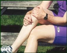 calf cramps remedy hold sitting