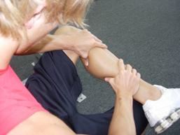 calf cramps remedy squeeze