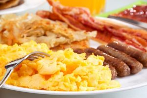 are eggs good for you but not sausage and bacon