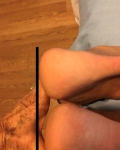 one leg longer