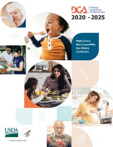 US Dietary Guidelines 2020-2025